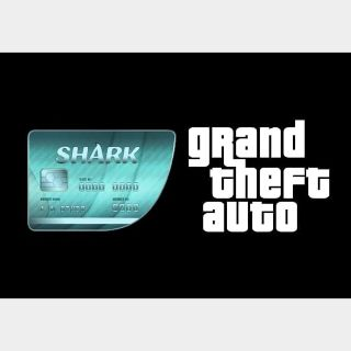 Grand Theft Auto V GTA: Megalodon Shark Cash Card Rockstar Social Club Key GLOBAL