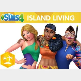 The Sims 4: Island Living Origin Key GLOBAL