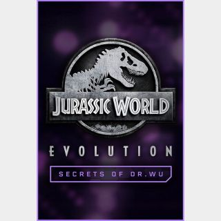 Jurassic World Evolution: Secrets of Dr Wu Steam Key GLOBAL