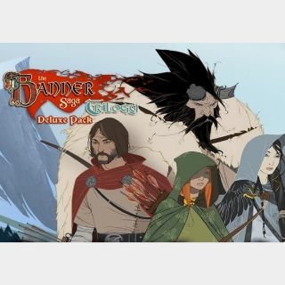 Banner Saga Trilogy - Deluxe Pack Steam Key GLOBAL