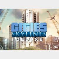 Cities: Skylines - Digital Deluxe Edition Steam Key GLOBAL