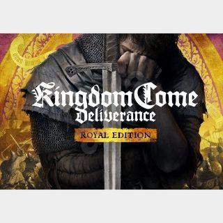 Kingdom Come: Deliverance - Royal Edition Steam Key GLOBAL