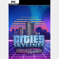 Cities Skylines PC - Synthetic Dawn Radio Steam Key GLOBAL