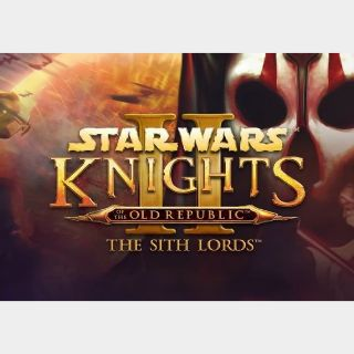 Star Wars: Knights of the Old Republic II - The Sith Lords Steam Key GLOBAL