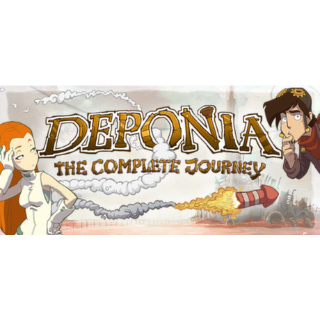 Deponia: The Complete Journey STEAM KEY