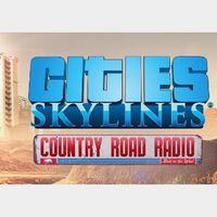 Cities: Skylines - Country Road Radio Steam Key GLOBAL