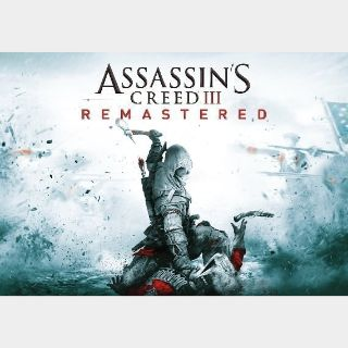 Assassin's Creed III - Remastered Xbox live Key GLOBAL