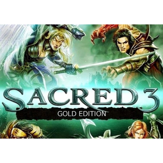 Sacred 3 - Gold Edition Steam Key GLOBAL