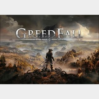 GreedFall Steam Key GLOBAL