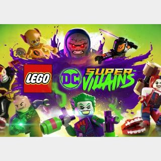 LEGO DC Super-Villains Steam Key GLOBAL