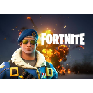 Fortnite Bomber Skin + 500 V-Bucks PS4 EU