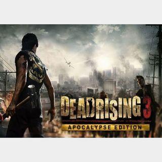 Dead Rising 3 - Apocalypse Edition Steam Key GLOBAL