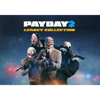 Payday 2 - Legacy Collection Steam Key GLOBAL