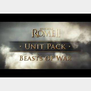Total War: Rome 2 - Beasts of War Unit Pack Steam Key GLOBAL