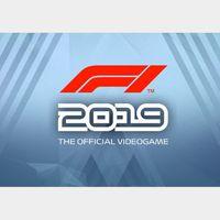 F1 2019 - Anniversary Edition Steam Key GLOBAL