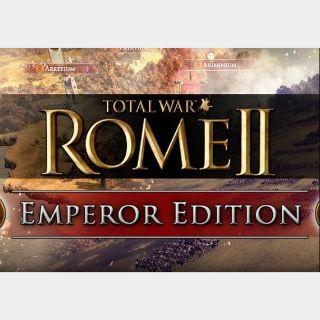 Total War: Rome 2 - Emperor Edition Steam Key GLOBAL