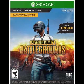 PlayerUnknown's Battlegrounds (PUBG) Xbox live Key/Code Global