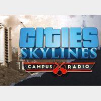Cities: Skylines - Campus Radio Steam Key GLOBAL
