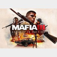 Mafia III - Definitive Edition Steam Key GLOBAL
