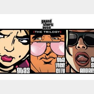 Grand Theft Auto - Trilogy Steam Key GLOBAL