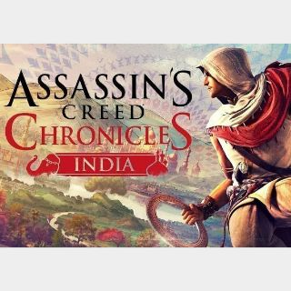 Assassin's Creed Chronicles: India Uplay Key GLOBAL