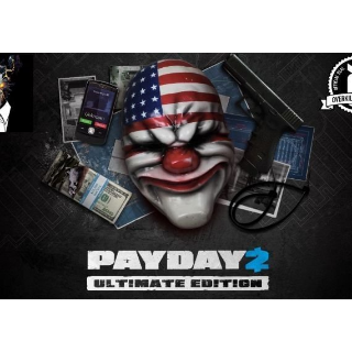 Payday 2 - Ultimate Edition Steam Key GLOBAL