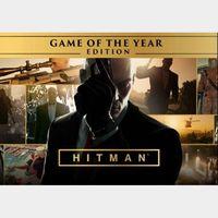 Hitman GOTY Steam Key GLOBAL