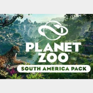 Planet Zoo - South America Pack Steam Key GLOBAL