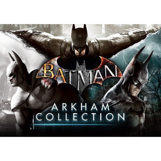 Batman: Arkham Collection Steam Key GLOBAL