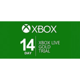 Xbox Live Gold Trial 14 Days