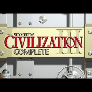 Sid Meier's Civilization III: Complete Steam Key GLOBAL