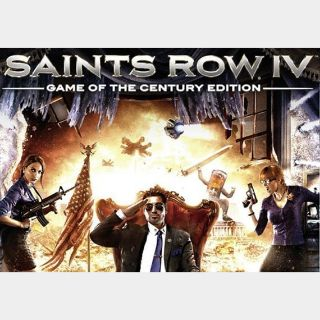 Saints Row IV - Game of the Century Edition Steam Key GLOBAL