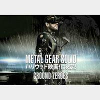 Metal Gear Solid V: Ground Zeroes Steam Key GLOBAL