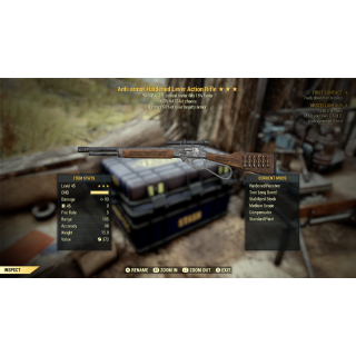 Weapon | 3* AA Dbl VATS Lever