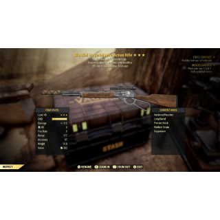 Weapon   3* BE VATS Lever Action