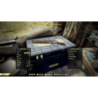 Weapon | 3* VE VATS Lever Action