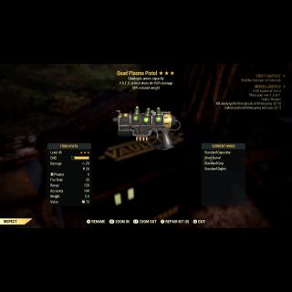 Weapon | 3* Quad VATS RW Plasma
