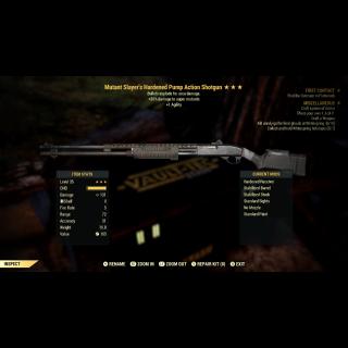 Weapon | 3* MS Expl Pump Shotgun