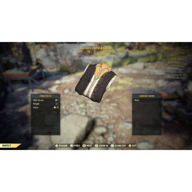 Apparel | Western Outfit and Chaps - In-Game Items - Gameflip