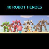 Bundle   40 Robot Heroes