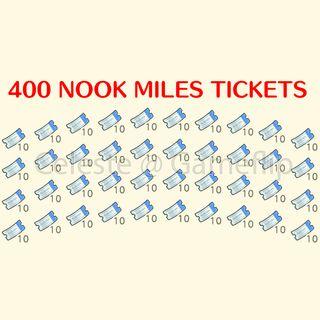 Nook Miles Tickets   400x NMT
