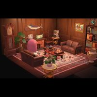 Furniture   Cozy Fireplace Lounge