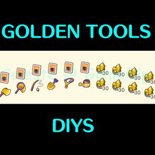 Bundle | Gold Tools DIY Nuggets