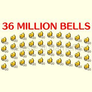 Bells   36 000 000x