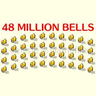 Bells   48 000 000x