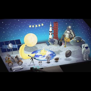 Furniture | Space Moon Furniture Set