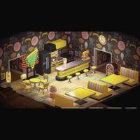Furniture   Yellow Diner Set