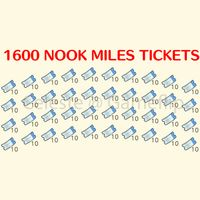 Nook Miles Tickets | 1600x NMT