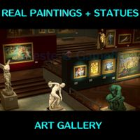 Full set 43 Paintings & Statues