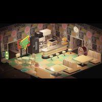 Furniture   Cream Diner Set